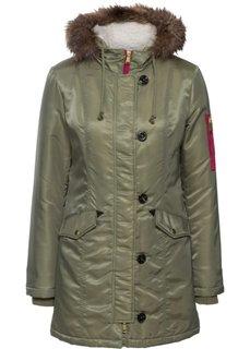 Куртка-парка (оливковый) Bonprix