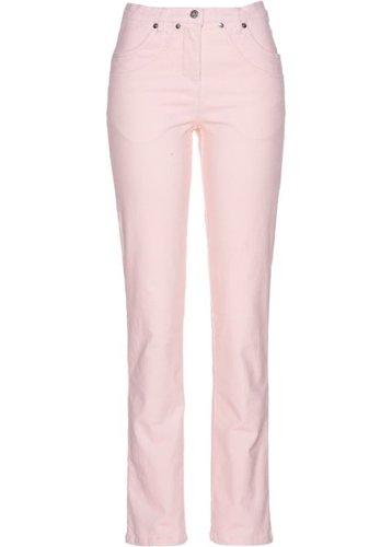 Вельветовые брюки-стретч (нежно-розовый)