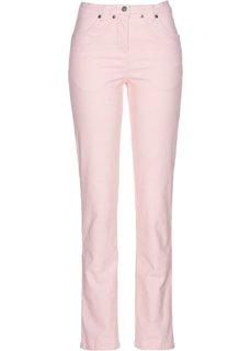 Вельветовые брюки-стретч (нежно-розовый) Bonprix
