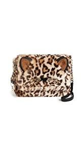 Kate Spade New York Leopard Muff Cross Body Bag