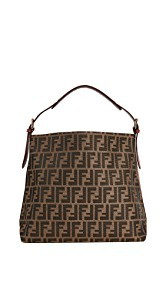 What Goes Around Comes Around Fendi Red Zucca Shoulder Bag (Previously Owned)