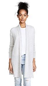White + Warren Essential Trapeze Robe