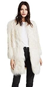 Zadig & Voltaire Lamy Faux Fur Jacket