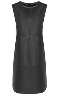 Платье из натуральной кожи La Reine Blanche