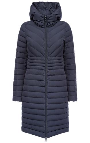 Женское пальто на натуральном пуху