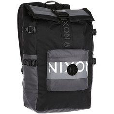 Рюкзак туристический Nixon Swamis Backpack Black/Dark Gray