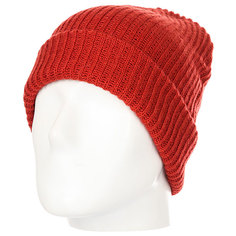 Шапка Quiksilver Routine Beanie Ketchup Red