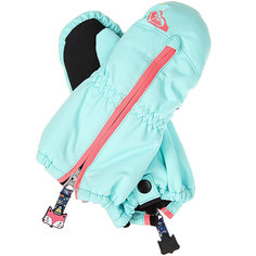 Варежки сноубордические детские Roxy Snows Up Mitt Aruba Blue