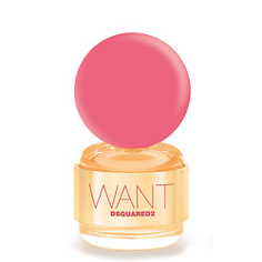 DSQUARED2 Want Pink Ginger Парфюмерная вода, спрей 30 мл