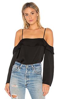 Блуза с открытыми плечами cascade sleeve - 1. STATE
