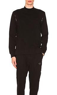 Свитшот shoulder zip - Calvin Klein