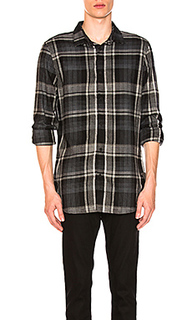 Вязаная рубашка brushed plaid - Calvin Klein