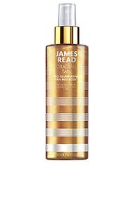 Легкий спрей-автозагар с эффектом сияния для тела h2o - James Read Tan