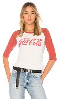 Топ с цельным рукавом coca cola - Junk Food