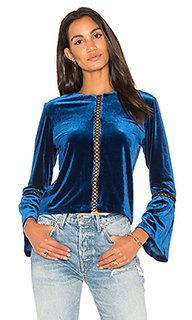Бархатная блузка calista - Karina Grimaldi