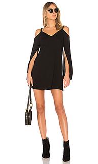 Платье с разрезами на рукавах - Lanston