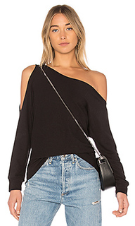 Пуловер на одно плечо - Lanston