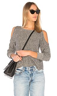 Пуловер с разрезами - Lanston
