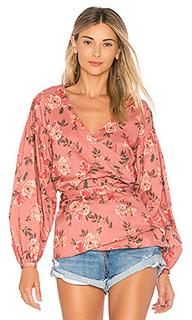 Блузка с запахом barnes - Lovers + Friends