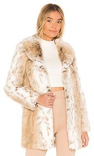 Пальто из искусственного меха tatiana - MAJORELLE
