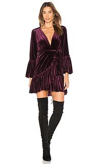 Платье с запахом corrine - MISA Los Angeles