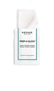 Двусторонние очищающие салфетки prep-n-glow - NuFACE