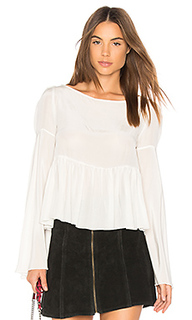 Блуза с рюшами newman - STONE_COLD_FOX