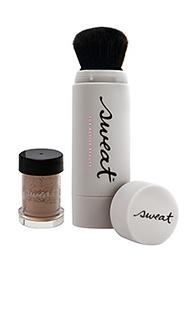 Минеральная тональная пудра + кисть - Sweat Cosmetics