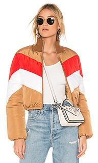 Объемная куртка в полоску senna - Tularosa