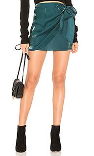 Мини юбка с запахом frieda - Tularosa