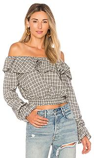 Блуза с открытыми плечами peyton - Tularosa