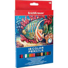 Цветные карандаши шестигранные ArtBerry, 18 цветов Erich Krause