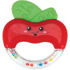 Погремушка-прорезыватель «Яблочко» APPLE FUN Happy Baby
