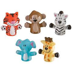 "Набор игрушек на пальцы ""Джунгли/сафари"" FUN AMIGOS Happy Baby"