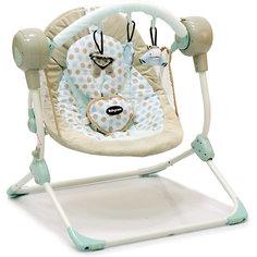 Кресло-качели Balancelle, Baby Care, кремовый