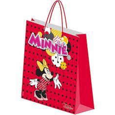 """Подарочный пакет """"Минни Маус"""" 28*34*9 см Академия групп"""