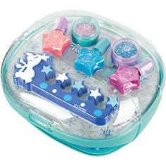 Игровой набор детской декоративной косметики с сушкой лака, Холодное сердце