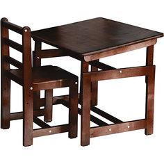 Комплект детской мебели Растем вместе, Фея, палисандр