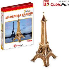 """Пазл 3D """"Эйфелева башня (Франция) (мини серия)"""", CubicFun"""