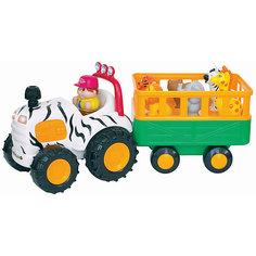 "Развивающий центр - трактор ""Сафари"", Kiddieland"