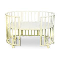 Кроватка-трансформер Sweet Baby Delizia Avorio без маятника, слоновая кость