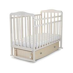 Кроватка Sweet Baby Luciano Nuvola Bianca, белое облако