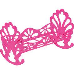 Кроватка-качалка сборная для кукол, розовая, Полесье