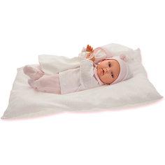 Кукла Ману в розовом, 29 см, Munecas Antonio Juan