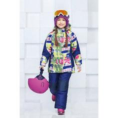 """Комплект: куртка и полукомбинезон """"Аннабель"""" OLDOS для девочки"""