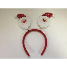 Новогоднее украшение Дед Мороз в красном колпаке Magic Time