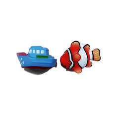 "Игрушки-брызгалки для ванны Yako Toys ""Акварики"""
