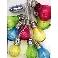Светодиодная гирлянда Яркий праздник 2 метра, гибкая цветные лампочки