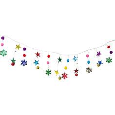 Новогодняя гирлянда Magic Land звезды и снежинки, 1,75 м Волшебная Страна