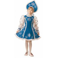 """Карнавальный костюм """"Снегурочка"""" Jeanees для девочки"""